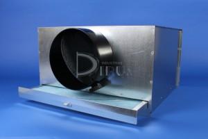 Plenum + Portafiltro placa Cuadrada
